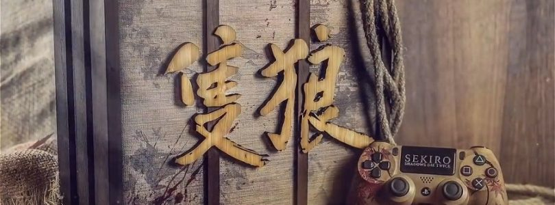 《Sekiro:Shadows Die Twice》限定版PS4主机公布:仿照古朴拉门样式设计