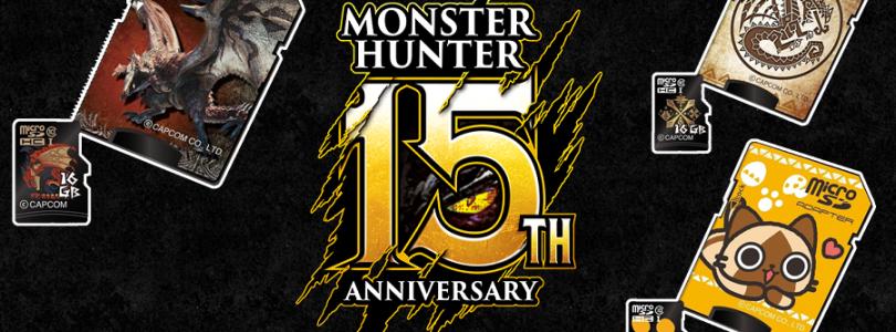 庆祝15周年庆,《Monster Hunter》推主题记忆卡:16GB+精美卡套,售约RM72!