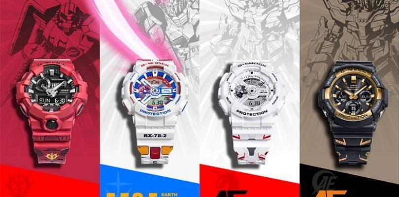 《Gundam》联合G-Shock推四款纪念手表,超经典配色勾起粉丝情怀!售约RM911!