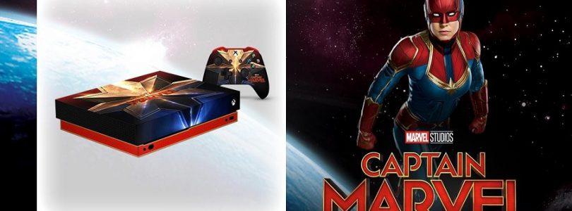 Xbox官方发布全新《Captain Marvel》定制版主机:售约RM2449,但有免费获得方法!