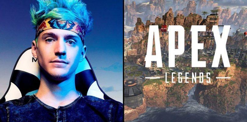 玩游戏比律师医生赚还要多!游戏实况主直播《Apex Legends》,赚超100万美元!