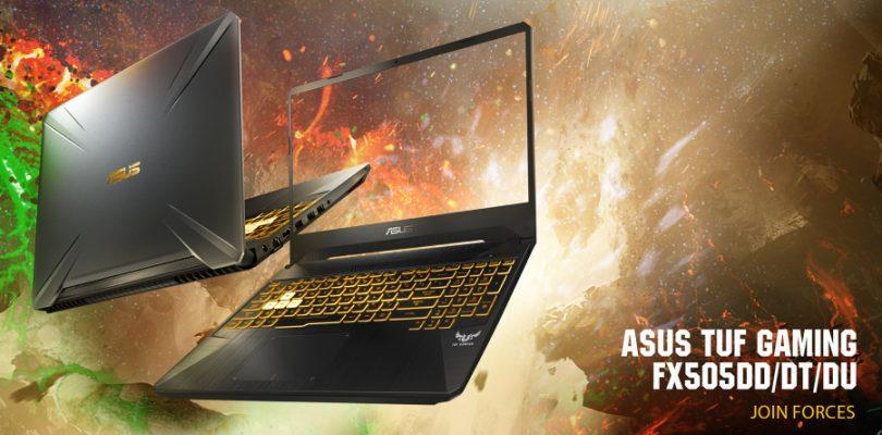 Asus发布新一代TUF:AMD Ryzen处理器+GTX16系列显卡,主打耐摔的平价游戏笔电!