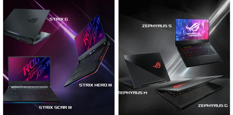 Asus公布ROG系列新笔电:240Hz刷新率、最高32GB RAM、第九代i9处理器、RTX显卡!