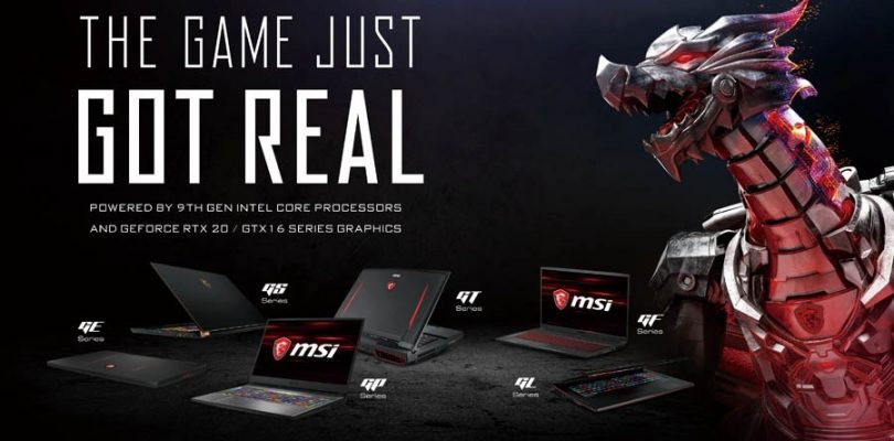 MSI发布2019年6款新品:全球首款第九代Intel i9电竞笔电!最高还有RTX 2080显卡!售RM4899起!