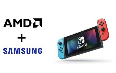 传Nintendo Switch 2将采用AMD与Samsung联合开发的处理器与GPU