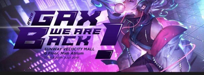 GamePlan GAX 2019将于7月27日到28日进行:将进行SDO-X、Mobile Legend赛事,还有知名电竞队伍与Cosplayer亮相!